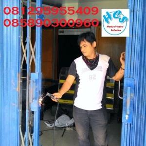 service-folding-gate